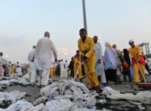 Sampah jamaah haji di Saudi Arabia
