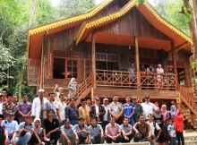 the MUI Visited Rimbang Baling Reseach Centre that will be use for the training.