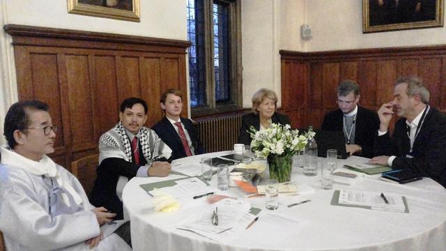 Aktifis agama dan konservasi berdiskusi di Lambeth Palace 17-18 November 2015