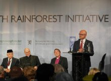 Norwegian Minister of Climate and Environment, Vidar Helgesen, speaking at Interfaith Rainforest Initiative in Oslo.  Photo: Ronny Hansen/Rain Forest Foundation Norway