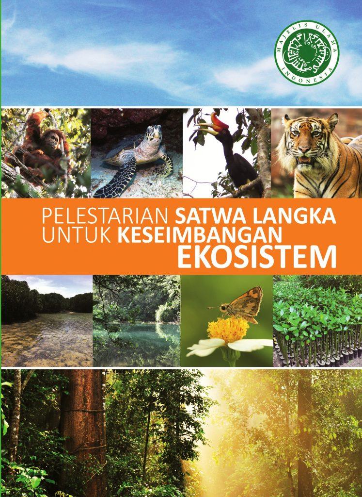 Cover depan buku satwa