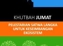 Cover depan khutbah satwa