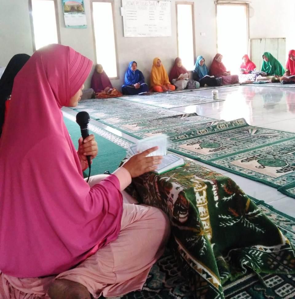 Pengajian di Desa Sidorejo Lampung