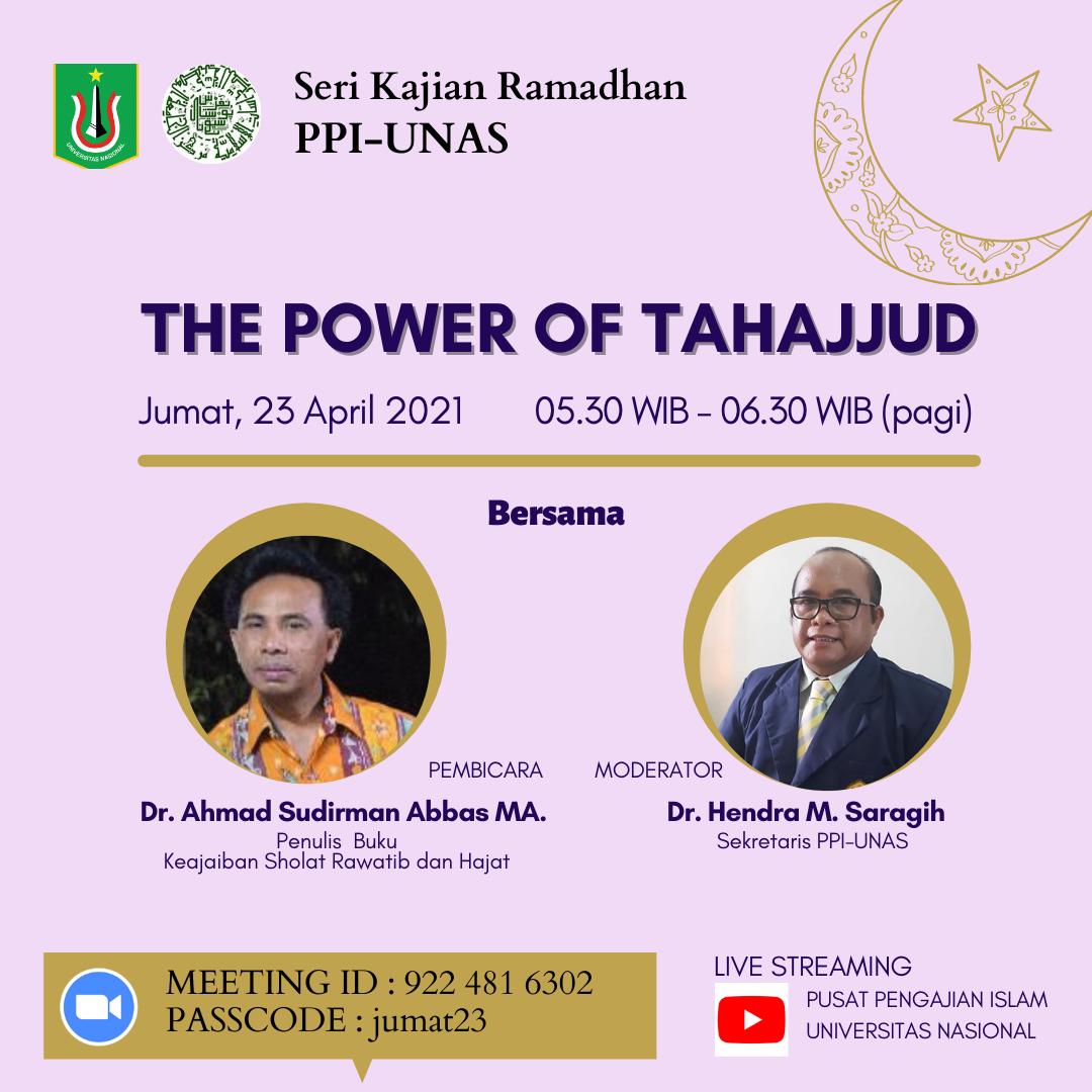 The power of Tahajjud (3)